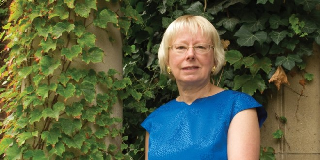 German Alumna, Mentor & Donor <br />Joan Andersen holds speech at Faculty of Arts & Science Scholarship Reception