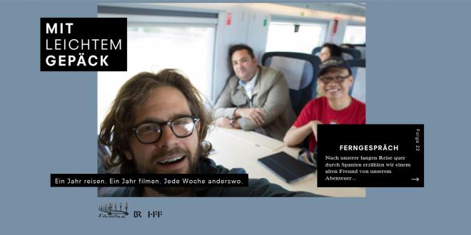 """Alumnus John Koster director of BR travel series """"Mit leichtem Gepäck"""""""