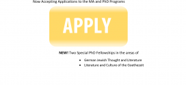 Apply now for the 2015-16 graduate program