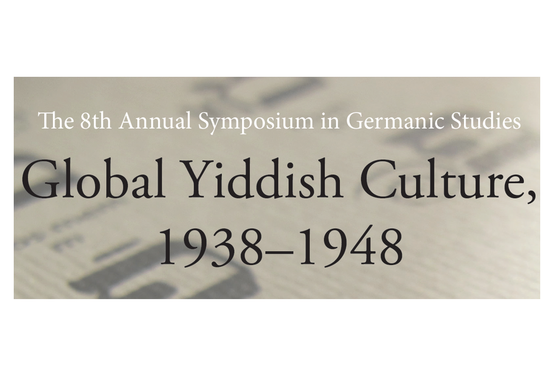 Global Yiddish Culture In 1938 1948 Uoft German
