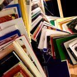 Swirl of books - by Judit Klein