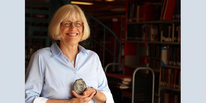 German Department Alumna Linda Dietrick Awarded Boeschenstein Medal