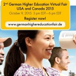 German Higher Education Virtual Fair graphic