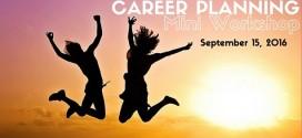 Career Planning Mini Workshop 2016