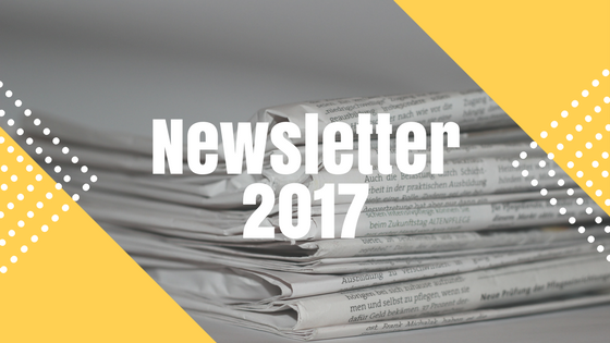 Newsletter 2017: Out Now