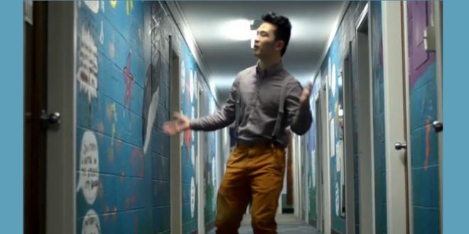 He's Got Cred – auf Deutsch!  Chengcheng 'Charlie' Huang Lays Down Best Rap