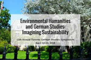The 11th Toronto German Studies Symposium 2018