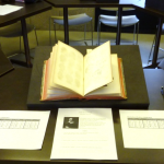 Introducing a class to 18th- and 19th-century documents from the Thomas Fisher Rare Book Library.