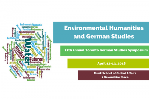 The 11th Toronto German Studies Symposium 2018