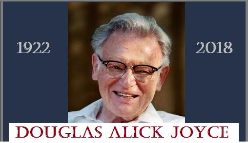 Douglas Alick Joyce ~ In Memoriam