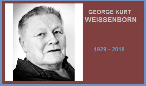 George Kurt Weissenborn ~ In Memoriam