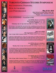 2019 Symposium Film Screenings