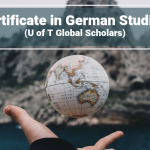 Certificate in German Studies (U of T Global Scholars)