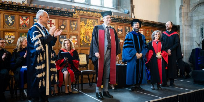 Professor Markus Stock installed as Principal of University College