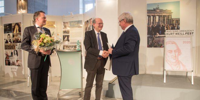 Willi Goetschel awarded 2020 Moses Mendelssohn Prize