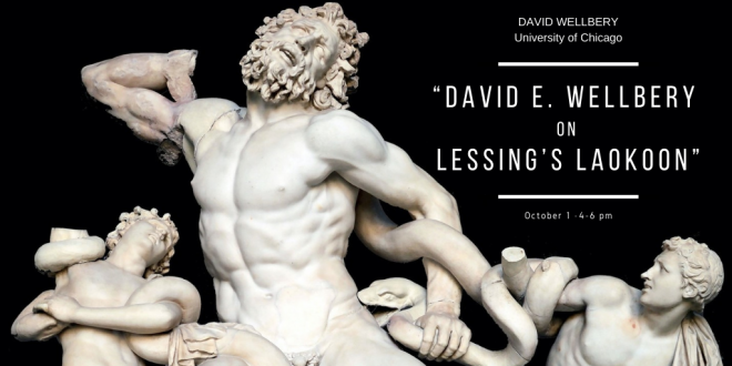 Guest Lecture, Oct. 1: David Wellbery on Lessing's Laokoon