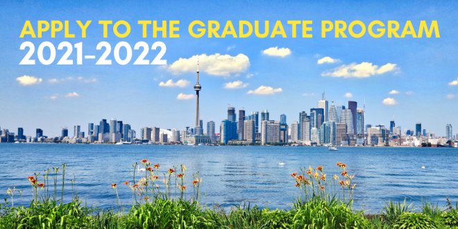 Apply now for the 2021-22 graduate program