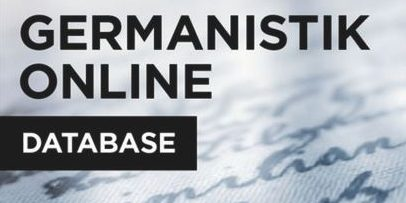 Germanistik Online Database available now