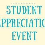 Student appreciation event