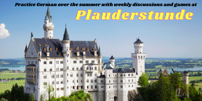Plauderstunde – practice your German during summer, first meeting May 6