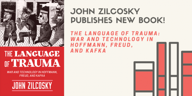 John Zilcosky publishes new book!