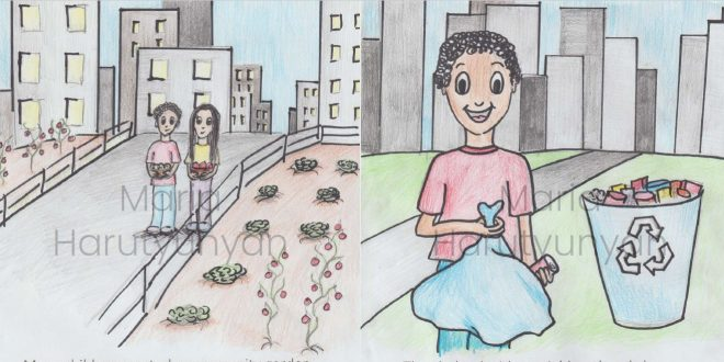 """Children's book """"The Wounded Earth"""" by PhD student Maria Harutyunyan"""