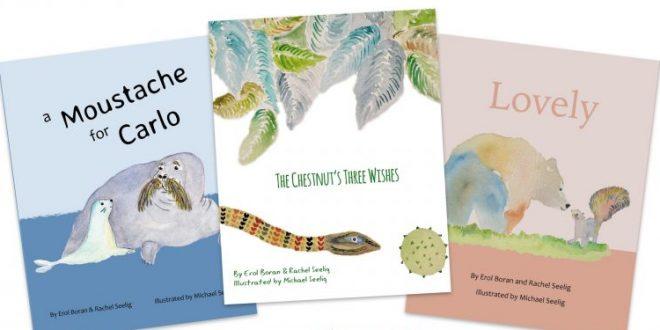 Erol Boran & Rachel Seelig publish new children's book