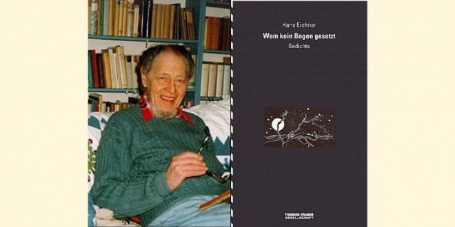 """Hans Eichner: """"Wem kein Boden gesetzt. Gedichte"""""""